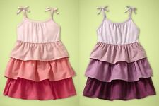 2 dresses:  GAP Butterfly Canyon Ombre tiered tank dress / bloomers set 18-24