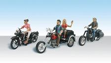Spur H0 - Born to Ride Bikers Bikers 3 Stück -- 5549  NEU
