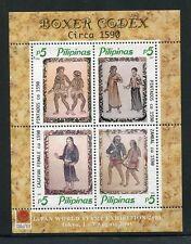 Philippines 2738, MNH.Boxer Codex Manuscript (Filipinos of Yesteryears)