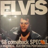 LASERDISC - ELVIS '68 COMEBACK SPECIAL - PAL