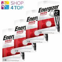 4 ENERGIZER CR2025 LITHIUM BATTERY BLISTER 3V COIN CELL DL2025 EXP 2029 NEW