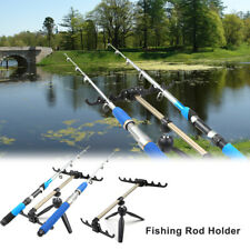 Luminous Fishing Rod Stand Aluminum Alloy Fishing Pole Pod Holder Bracket Tackle