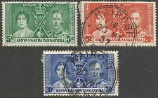 Royalty Used British KUT Stamps