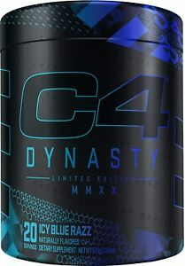 Cellucor C4 Dynasty MMXX Limited Edition Pre Workout -Icy Blue Razz