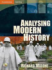 Analysing Modern History by Richard Malone (Paperback, 2009)