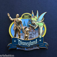 DLR - Annual Passholders 2007 - Tinker Bell and Partners Statue Disney Pin 51702