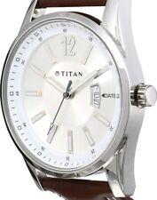 Titan Octane Analog Silver Dial Men's Watch - NE9322SL03A