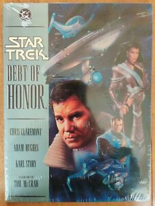 *Sealed MINT* Star Trek - Debt of Honor Graphic Novel (1992) factory sealed Rare