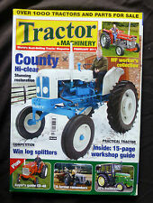 Tractor & Machinery, Feb.2011, Massey Ferguson worker's collection. County, JD's