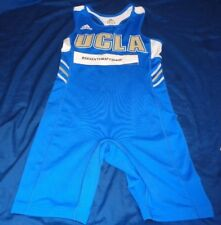 Adidas NCAA UCLA Bruins Singlet Uniform Track and Field Wrestling Adult Small