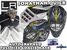 JONATHAN QUICK Signed LA KINGS Full Size GOALIE MASK w/COA - HOLOGRAM