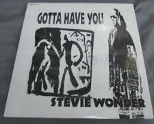 "STEVIE WONDER -GOTTA HAVE YOU- PROMO MEXICAN 12"" SINGLE STILL SEALED FUNK"