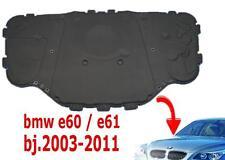 BMW 5er E60 E61 FUR Motorhaube Dämmung Dämmmatte Matte 51487148208 + clips
