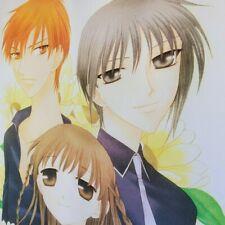 Posters Anime Super Big Clear Poster Honda Grass Clip Fruit Basket Flowers