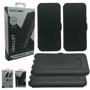 Tech21 Evo Wallet Protected FlexShock Black Wallet Case Samsung Galaxy S8+ NEW