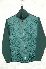 Claude Montana Knitwear Sweater, NOS, Mint, M, Italian 50, Dark Green/Jade