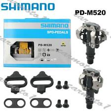 Shimano Deore PD-M520 MTB XC SPD Pedals Set w/ Cleat SM-SH51