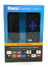 Roku Express Tv Streaming Player Easy Setup 1080p HD Black