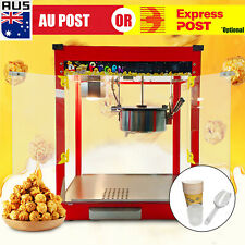 Commercial Red Popcorn Machine Electric Pop Corn Maker Popper Party Heavy Duty O