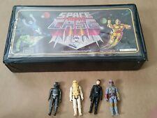 Vintage 70s Sears & Space Figure Case Star Wars Action Figures boba fett lot