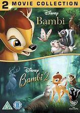 BAMBI BAMBI 2 DVD BRAND NEW REGION 2