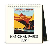 Cavallini & Co. National Parks 2021 Desk Calendar