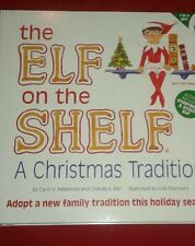 Elf On The Shelf Blue Eyes Girl/Book A Christmas Tradition Free Shipping For You