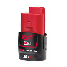 Milwaukee M12b2 - Batería de Ión-litio (2 0 a) color rojo