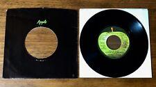 GEORGE HARRISON ~ ORIGINAL APPLE LABEL PROMO 45 ~ GIVE ME LOVE ~ 1973