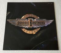 DOOBIE BROTHERS~CYCLES~1989 UK 10-TRACK VINYL LP + LYRIC INNER~CAPITOL EST 2100