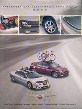 CHRYSLER Passenger Car Accessories PROSPEKT 2000 brochure auto prospetto AUTO AUTOMOBILI