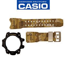 Casio G-Shock Mudmaster GWG-1000DC-1A Rubber Camo Watch Band Black Bezel Set