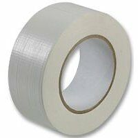 1 Roll Gaffer tape White 48mm x 50m gaffa duct duck packing cloth book binding