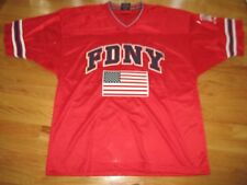 Colosseum FIRE DEPARTMENT NEW YORK (FDNY) Tribute to Heroes (2XL) Jersey w/ Flag
