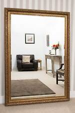 Large Wall Mirror 6ft10 X 4ft10 208cm X 147cm X Bevelled Hand Made Gold Ornate