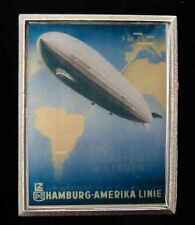 ZEPPELIN BELT BUCKLE RETRO STYLE HAMBURG-AMERIKA ZEPPELIN LINE NEW!