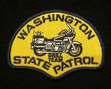 Washington WA State Police Highway Patrol Patch MOTORS DRILL TEAM