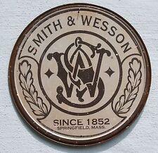 Smith & Wesson revolver logotipo Klassik estados unidos escudo de metal