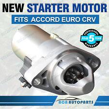 FOR Honda Starter Motor Accord EURO CL CM CP 2.4L K24A4 CRV VTI RD RE RM 2.4L