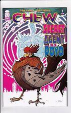 Chew Secret Agent Poyo #1 NM- 9.2 2012 Image See My Store