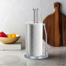 Grips SimplyTear Standing Paper Towel Holder Brushed Stainless Steel Paper Stand