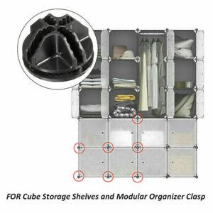 DIY Cube Modular Closet Organizer Wardrobe Rack Storage Cabinet Clothes Shelf