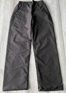 Ladies Golf Waterproof Trousers Black Small