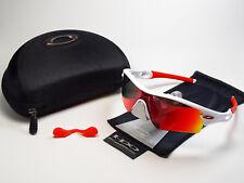Oakley Radar White OO Red Polarized Sunglasses M Frame Radar Lock Jawbone Blade