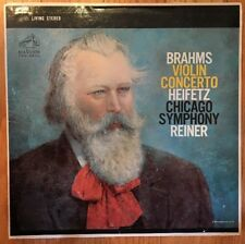 Brahms  CSO Heifetz Reiner  RCA Victor LSC-1903 vinyl LP