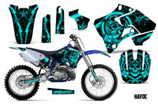 Yamaha YZ125 YZ250 Dirt Bike Graphic Sticker Kit Decal Wrap MX 1996-2001 HAVOC M