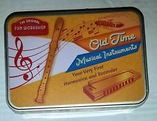 New-The Original Fun Workshop Old Time Recorder & Harmonica Musical Instruments