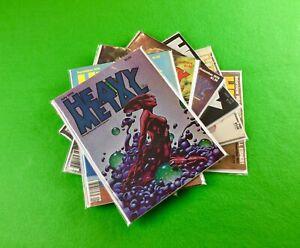 Heavy Metal Magazine Lot: 7-Bk- 1978-July,Aug,Sep,Nov 1979-Jan 1980-Oct 1983-Nov