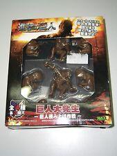 Attack On Titan MINI FIGURE BOX SET MAX LIMITED MIB