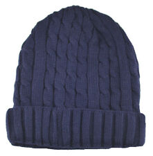 Cuffed Beanie Knit Winter Sweater Hat-navy blue(thermal insulation)